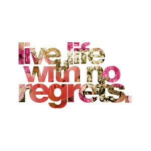 Live With No Regrets Rays Daily