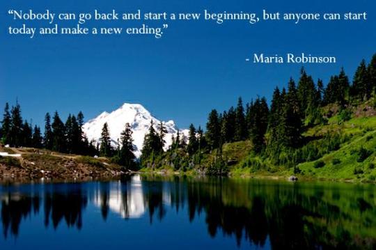 ! A new beginning