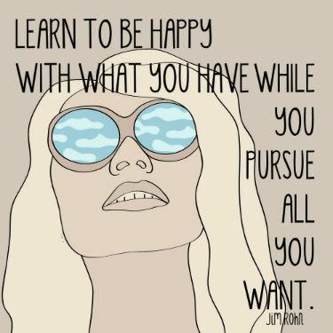 ! be happy