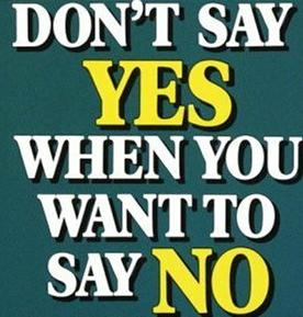 ! don't say yes