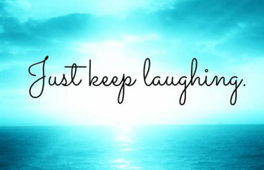 Just-keep-laughing