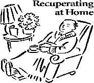 recuperating