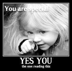 ! you are special