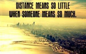 ! distance friendship
