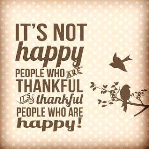 ! thankful quote