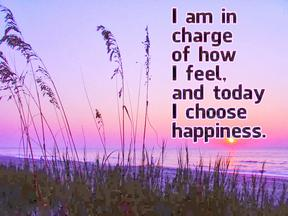 ! choose happiness