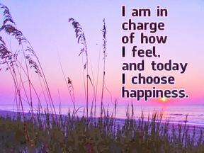 ! choose happiness
