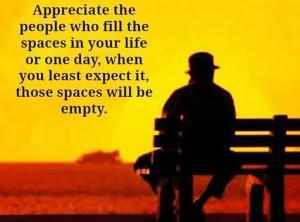 ! Appreciate people