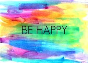 ! 1 be happy