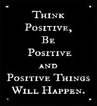 ! 0000 Be Positive