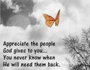 appreciate others