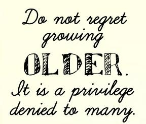 ! Aging