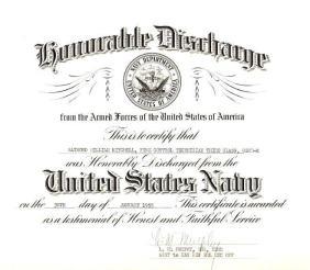 Navy Discharge