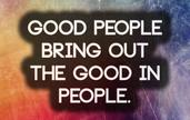 Good people.